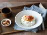연두부김치덮밥
