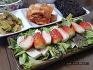 상큼한 두부 딸기 샐러드