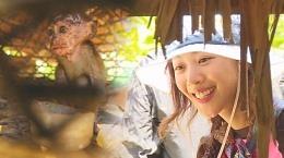 조보아, 멘타와이족 애완동물 보고 '애정 폭발'