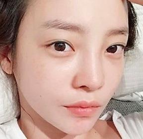 """""""거침없이 민낯"""" 구하라, 과감한 생얼"""