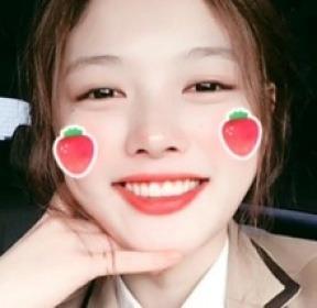 김유정, 영락없는 여고생