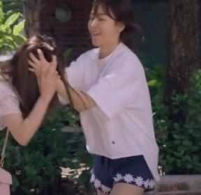 '사랑의 온도' 서현진, 머리채 잡는 자매의 싸움