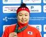 [포토] 김수현 은메달 획득 - 아슈가바트 아시아역도선수권대회 2017 여자 69KG (9)