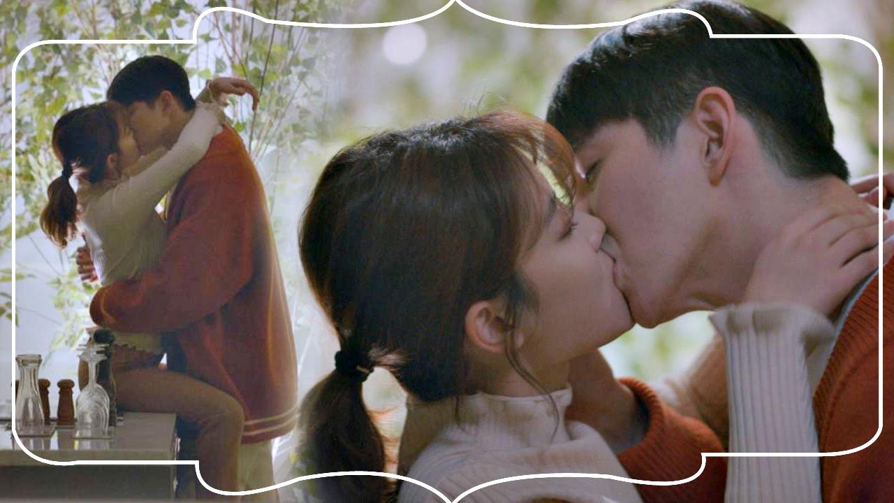 [달달 엔딩] 김유정♥윤균상, 연애세포 자극하는 '테이블 키스' #일단뜨겁게청소하라