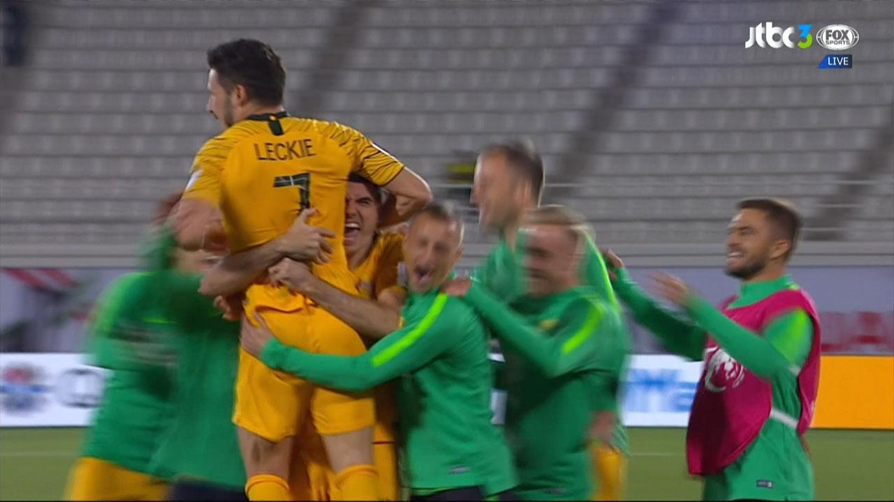 [승부차기 HL] '힘겨운 8강 진출' 호주 vs 우즈베키스탄 #2019AFC아시안컵