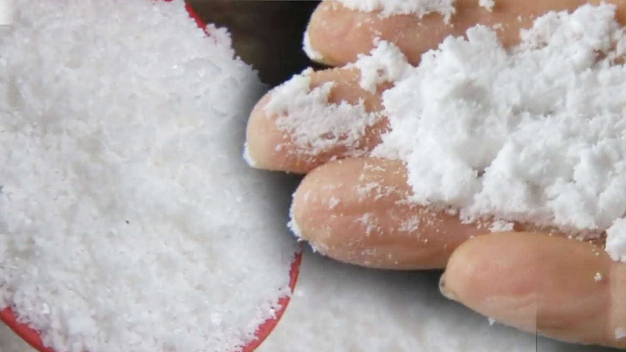 박미선이 감탄한 소금 제조법
