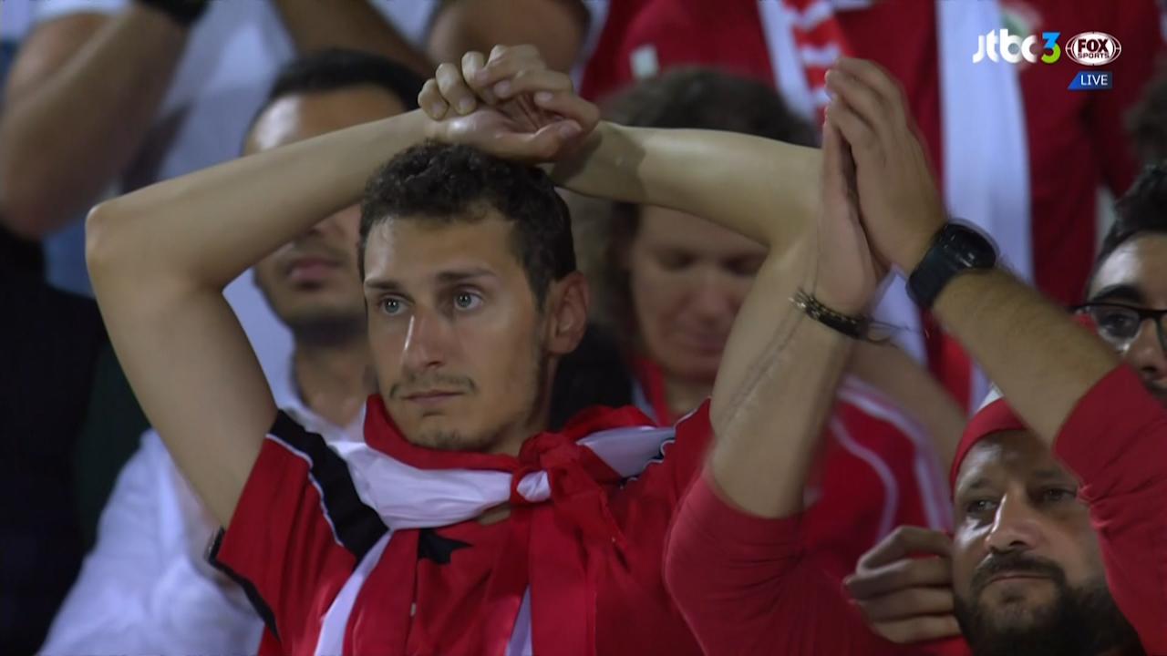 페어플레이 점수 부족으로 16강을 베트남에게 내주는 레바논  #2019AFC아시안컵