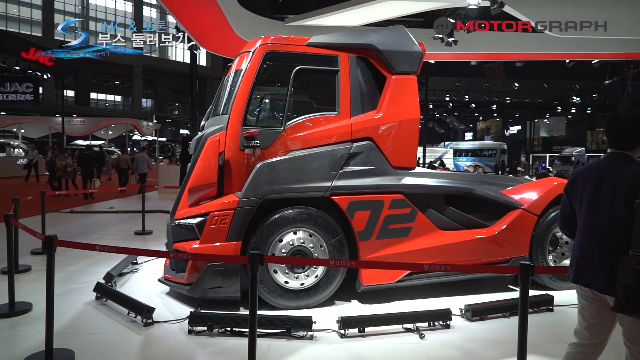 JMC 레이싱 트럭 컨셉카, 벤츠엔진을 가진 중국트럭브랜드 포톤