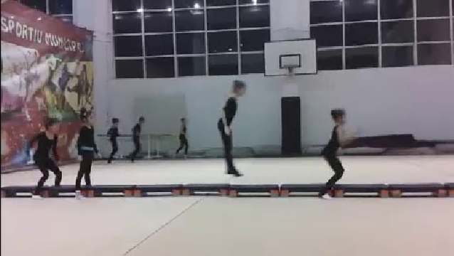 리듬체조 선수 숨 넘어가는 훈련