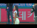 '머슬매니아' 홍주연-홍유리 자매 시구, 시타