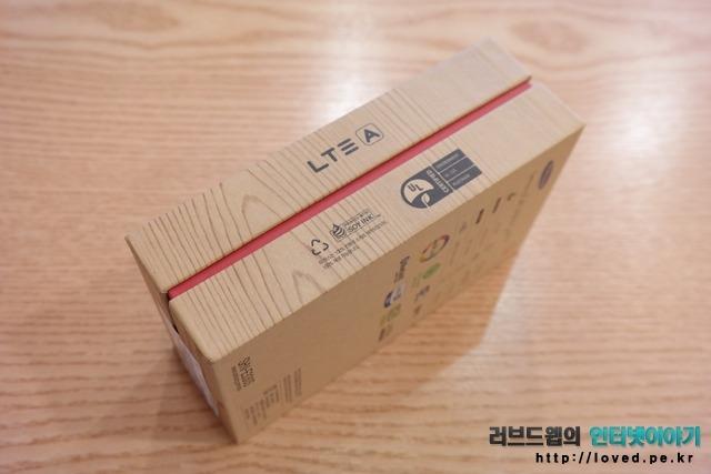 갤럭시S4 LTE-A 패키지 박스