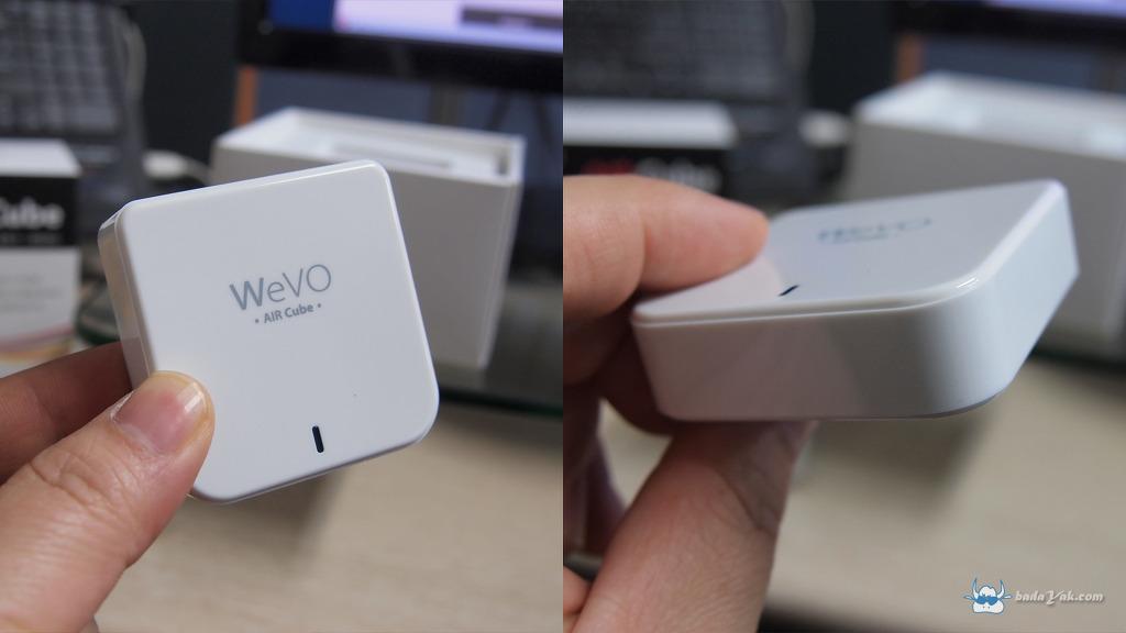 WeVO Air Cube 휴대용 무선 인터넷 공유기