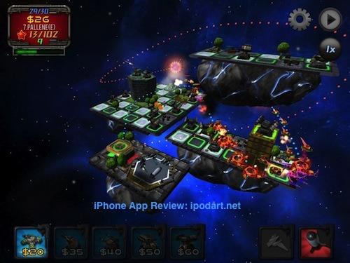Saturn Defense 아이폰 아이패드 토성방어 추천 디펜스 게임