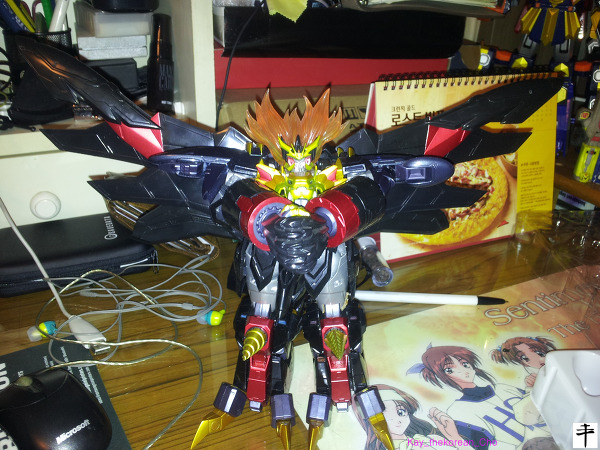 Max Alloy Genesic gaogaigar-Hell and Heaven-Lower Angle