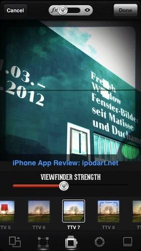 Viewmatic 아이폰 사진 필터 뷰파인더