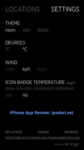 Climate Clock 아이폰 날씨 일기 예보