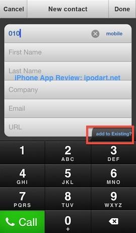 ReachFast Contacts 아이폰 연락처 빠른 전화 메시지 메일