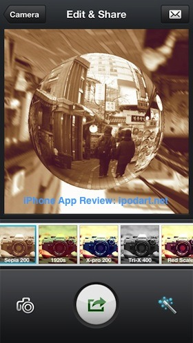 InstaFisheye - LOMO Fisheye Lens for Instagram 아이폰 어안렌즈 사진 촬영