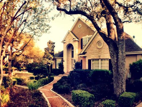 텍사스의 흔한 집
