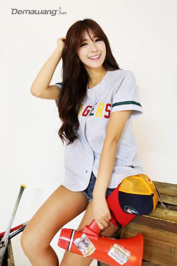 치어리더 김연정 화보2