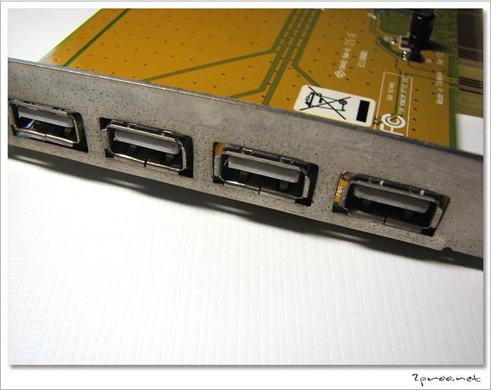 NETmate USB2.0 4포트 PCI 카드 - NMU204 NEC 칩셋