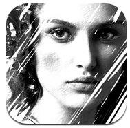 아이폰 사진 스케치 효과 그림 Sketch+