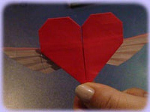 날개 달린 하트 (Francis Ow) 종이접기 동영상