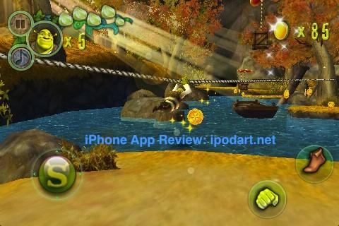 아이폰 아이팟터치 게임 슈렉포에버 에프터 Shrek Forever After