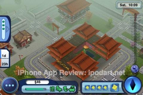 아이폰 게임 심즈 월드어드벤처 The Sims 3 World Adventures