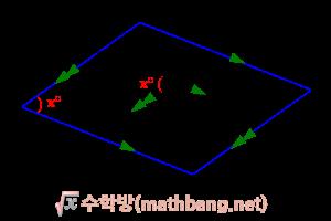 삼각비의 활용 - 사각형의 넓이 2