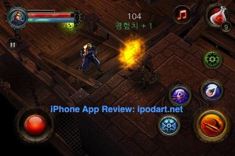 아이폰 아이팟터치 RPG 게임 던전헌터2 Dungeon Hunter2
