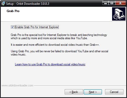 Orbit Downloader 플래시파일, 동영상파일 다운로드 프로그램