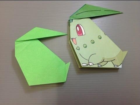 치코리타 Chikorita (Ryoko Nishida) 포켓몬 종이접기 동영상