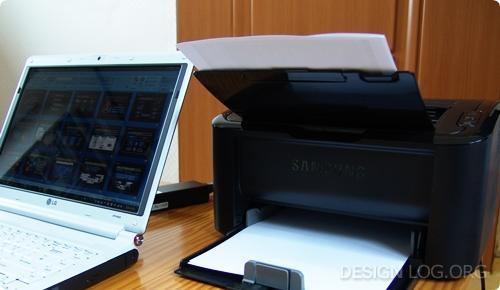 삼성 레이저 프린터 ML-1665K 활용기