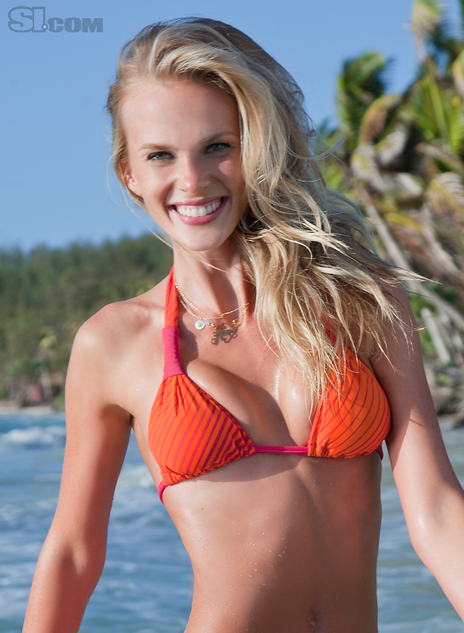 Anne Vyalitsyna (Sports Illustrated 2011, Second)