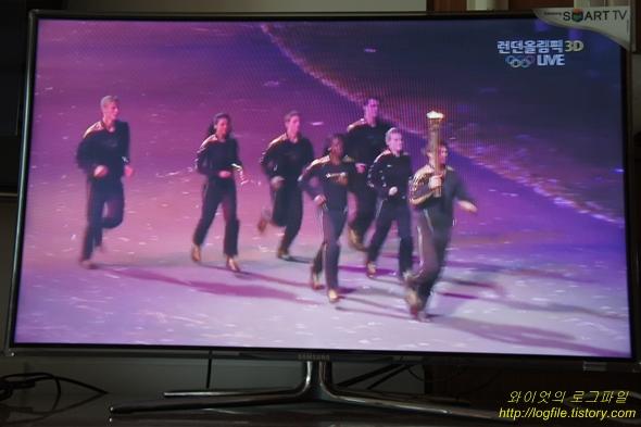 SBS 런던 올림픽 앱 3D live 방송