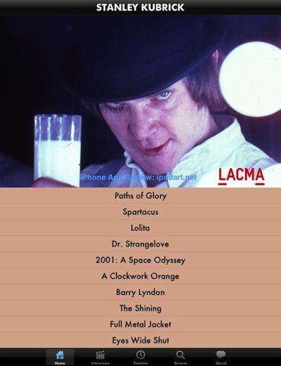 Kubrick 아이패드 스탠리 큐브릭 영화