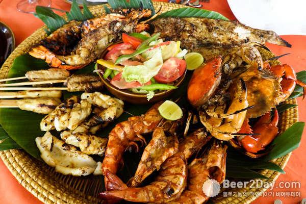 인도네시아 국민맥주, '빈땅'과 발리 음식 열전