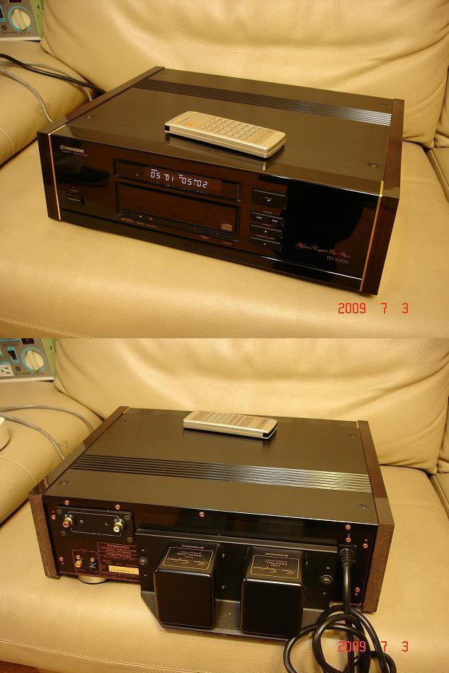 All about Antique Home Audio :: 파이오니아 엔트리급 PD-5000 CD ...