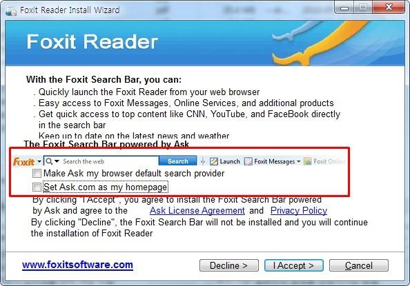 Foxit Reader 설치