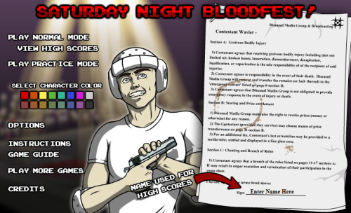 Saturday Night Bloodfest 01