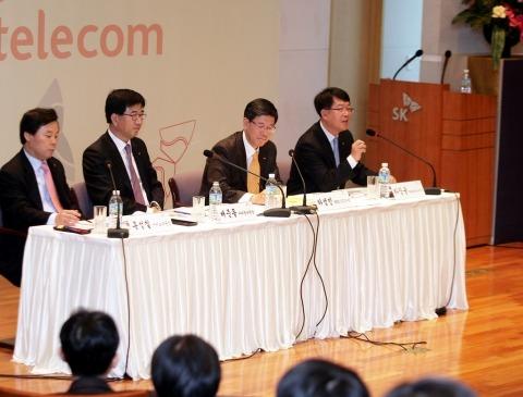 SKT의 무선인터넷 활성화,스마트폰 계획 발표 (2010년 1월 14일)