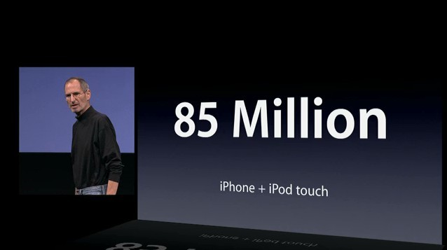 iPhone, iPod Touch 누적 판매 8,500만 대