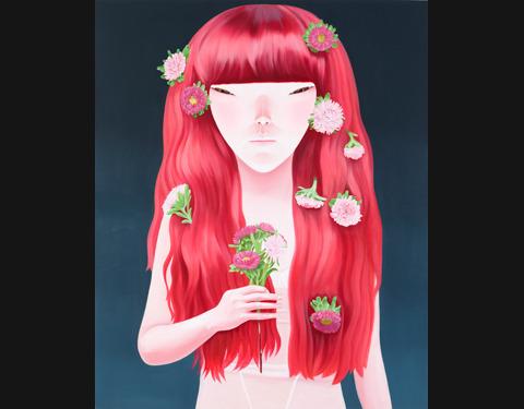 <붉은머리-II> 이소연