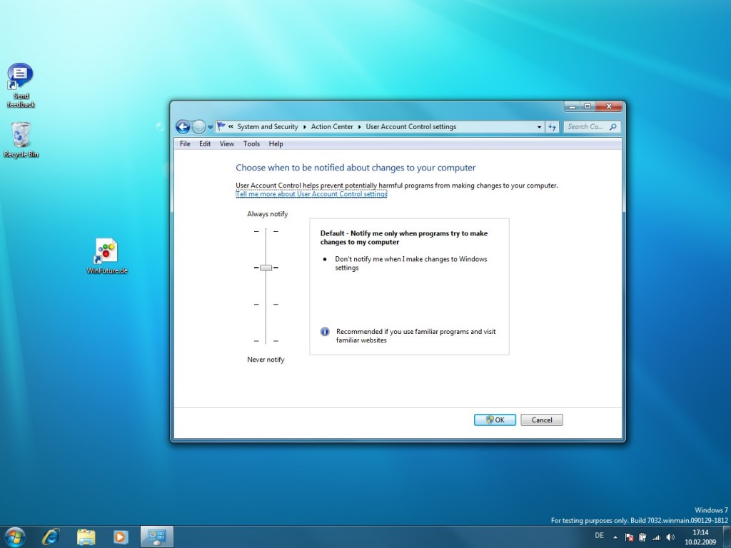 09 Windows 7 Build 7032 Screenshots