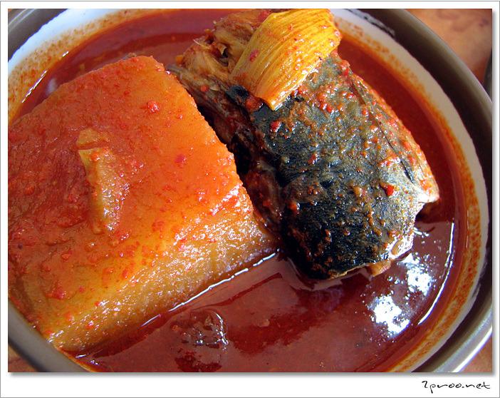대전 맛집, 황토 우렁이마을 - 고등어조림