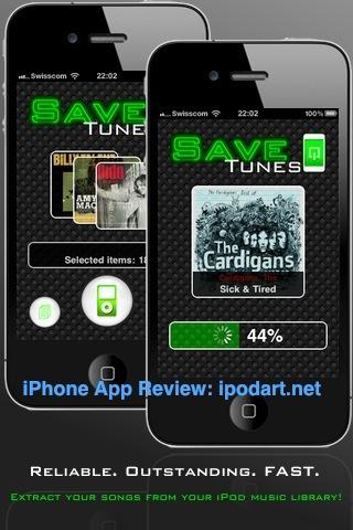 아이폰 노래 백업 SaveTunes - MP3 & M4A Extractor