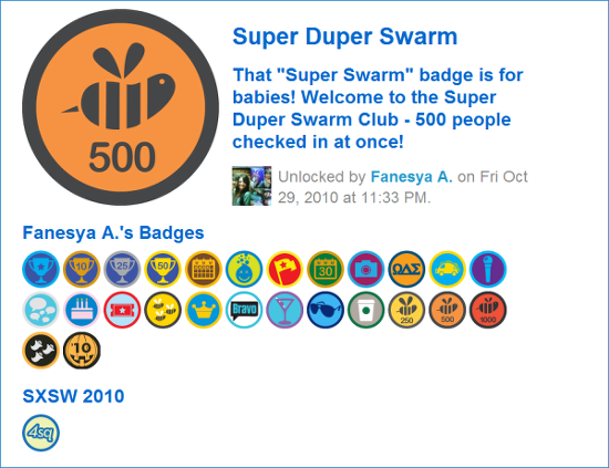 Super Duper Swarm Badge