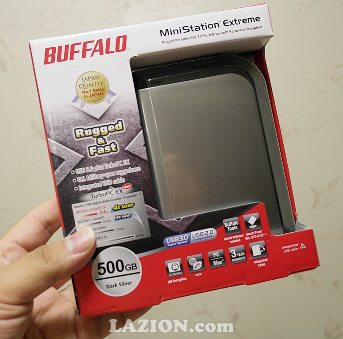00GB, Buffalo, HD-PZU3, MiniStation Extreme, Portable, Storage, 미니스테이션 익스트림, 버팔로, 외장하드, HDD, 저장장치, review, 리뷰, USB 3.0, MIL-STD-810F 516.5 procedure IV