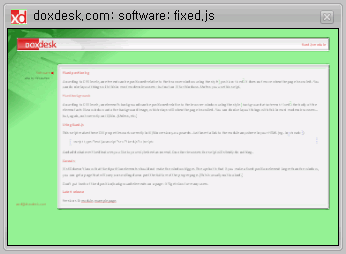 doxdesk.com > software > fixed.js